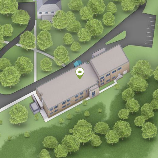 South Campus on Interactive Campus Map
