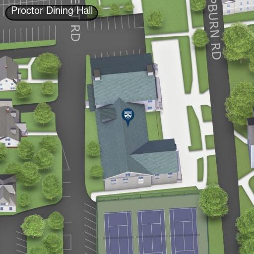 Map of Proctor Terrace