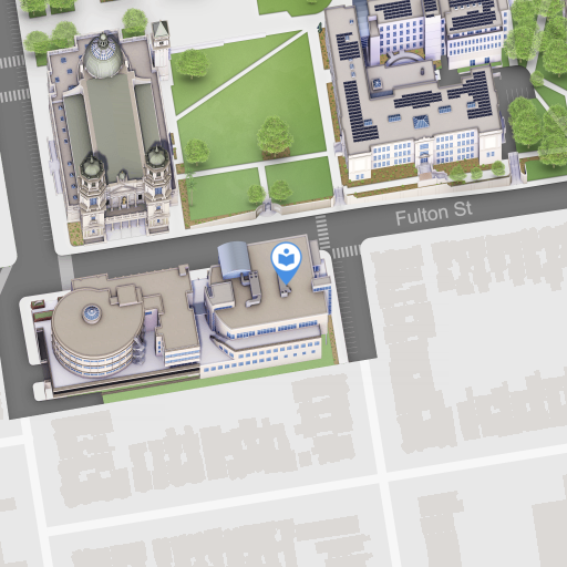 Map of the Dorraine Zief Law Library