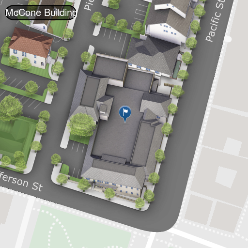 Map of McCone Irvine Auditorium